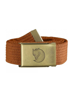 Ремень Fjallraven Canvas Brass Belt 3 cm Autumn Leaf (215)