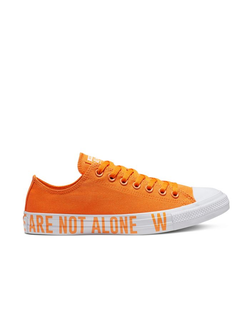 Кеды Converse Chuck Taylor All Star We Are Not Alone Low Top orange