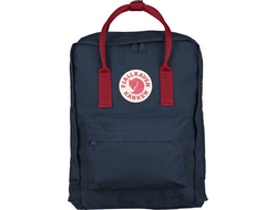 Рюкзак Fjallraven Kanken Royal Blue/Deep Red (Classic)