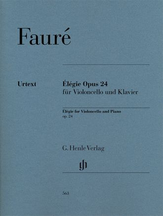 Gabriel Faur? ?l?gie op. 24 for Violoncello and Piano