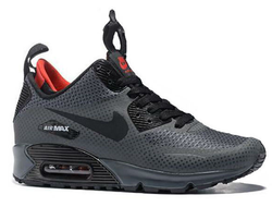 Nike Air Max 90 ES SneakerBoot Grey Black (41-45) Арт. 104FA