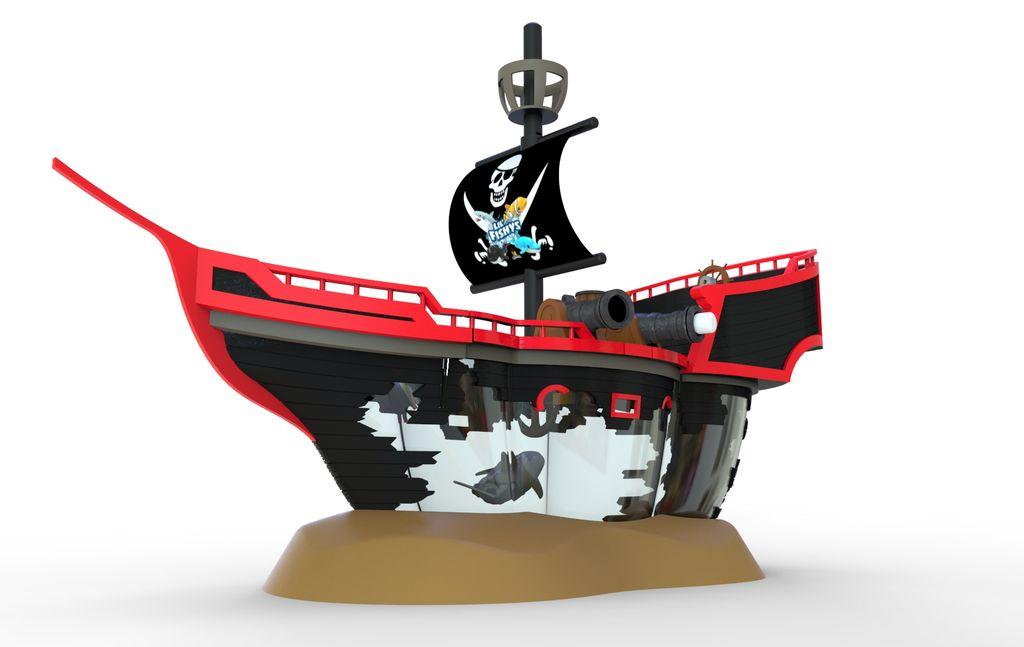 Redwood Ventures Игровой набор Пиратский Корабль-призрак Море чудес