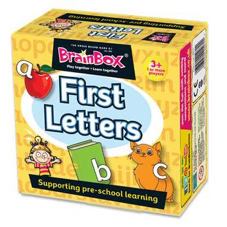FIRST LETTERS (Brainbox First Letters)