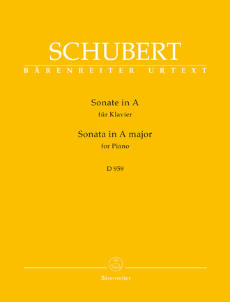 Schubert Sonata for Piano A major D 959