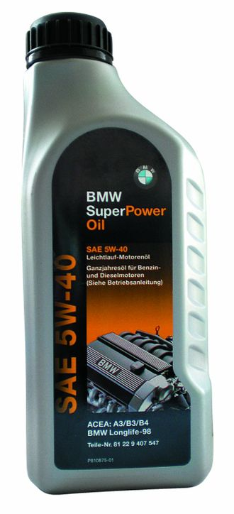 "Моторное масло BMW Super Power 5W-40"", 1л"