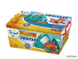 Юный инженер JUNIOR ENGINEER- VEHICLES 79 PCS/SET / Юный инженер, 2+