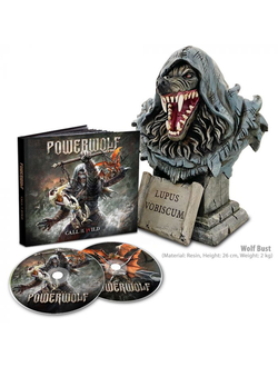 POWERWOLF - CALL OF THE WILD 2-CD + Wolf Bust