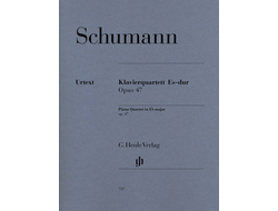Schumann Piano Quartet E flat major op. 47