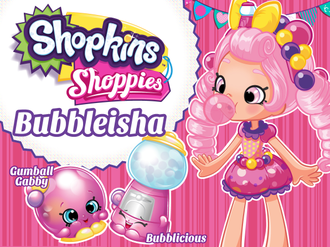 Shopkins Shoppies Bubbleisha Шопкинс