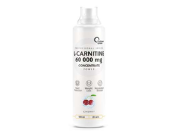 (OPTIMUM SYSTEM) L-CARNITINE CONCENTRATE 60 000 POWER - (500 МЛ) - (клубника)
