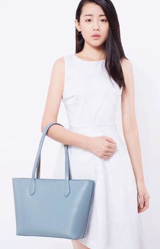 Сумка женская кожаная Xiaomi U'REVO leather lady Tote bag blue