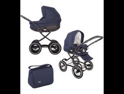 Универсальная коляска Tutis Zippy Classic New (2 в 1) Цвет Темно-синий