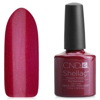 CND Shellac, цвет Red Baroness