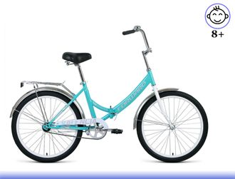 "FORWARD VALENCIA 1.0 24"" (мятный/серый) Kiddy-Bikes"