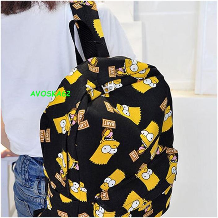 рюкзак, барт симпсон, симпсоны, мультфильм, недорого, купить, интернет,  герои 1408b6e43ef