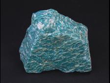 Амазонит, необработанный образец, Кольский п-ов (77*60*32 мм, 230 г) №18328