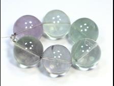 Бусины Флюорит светлый, шар 20 мм (1 шт) №19576