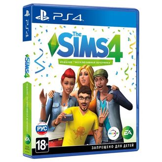 Игра для ps4 The Sims 4
