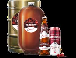 Пиво Вайсберг вишня 0,5 л, 1 бут.