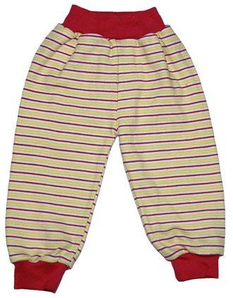 Ползунки-штанишки (Артикул 17-377К) цвет желтый