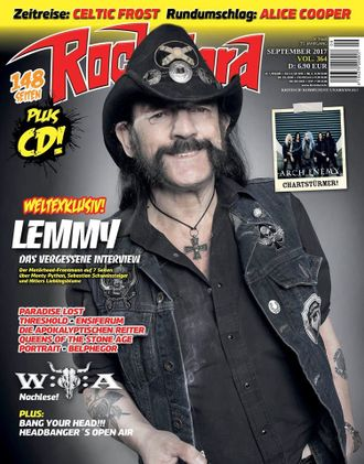 ROCK HARD Magazine September 2017 Lemmy, Motorhead Cover ИНОСТРАННЫЕ ЖУРНАЛЫ, INTPRESSSHOP