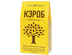 Кэроб необжаренный, 100г (Royal forest)