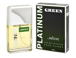 Platinum Green eau de toilette for men