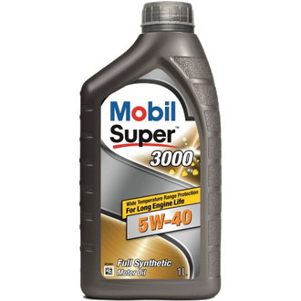 Масло моторное Mobil Super 3000 X1 5W-40 1л 152567