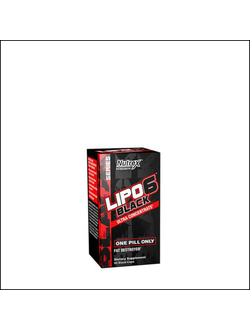 Жиросжигатель Nutrex Lipo 6 Black Ultra Concentrate 60 caps