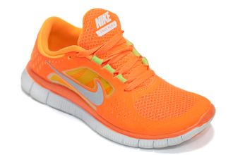 77478a24 Женские кроссовки Nike Free Run Orange (35-39) арт. f339