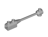 Bar 1 x 8 with Brick 1 x 2 Curved Top End (Axle Holder Inside Small End), Light Bluish Gray (30359b / 4258313 / 6030989 / 6259506 / 6273323)