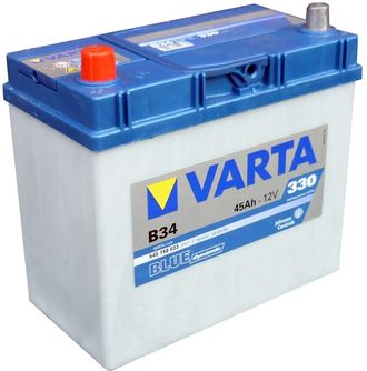АКБ 6СТ-45 VARTA Blue Dynamic Asia 545158033  стд.кл. п.п.