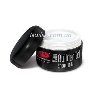 UV/LED Builder Gel Snow White PNB, 15 ml