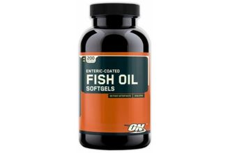 Optimum Nutrition Fish Oil Softgels (200caps)