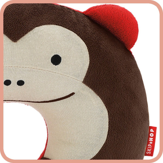 Подушка под шею Skip Hop Zoo Neckrest Monkey