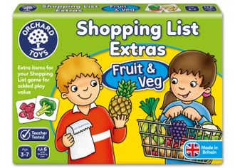 Shopping list (fruits and vegetables)