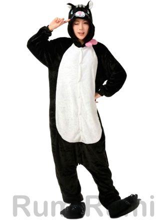 Пижама кигуруми Черный Кот купить по цене 2290 руб. 798b7380b8264