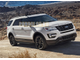 Пороги на Ford Explorer (2015-...) Black Start