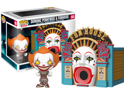 Купить Фигурку Funko POP! Vinyl: Town: IT 2 - Demonic Pennywise w/Funhouse 45660