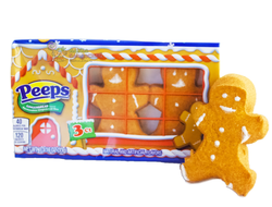 Peeps Marshmallow Gingerbread, зефир Пряня, 31 гр.