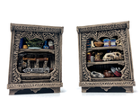 Beast Hunter bookshelves (PAINTED)