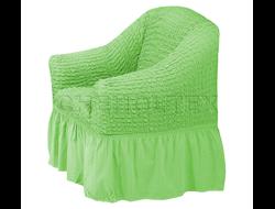 Чехол Стандарт на кресло, цвет Фисташковый