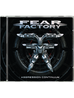 FEAR FACTORY - Aggression continuum CD