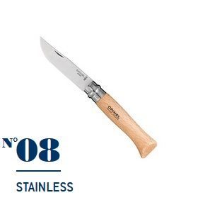 Нож Opinel №08 Stainless Steel
