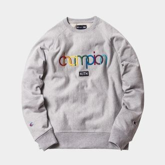 Kith x Champion Double Logo Crewneck