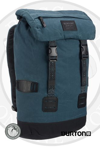 Burton Tinder Pack Dark Slate Waxed Canvas
