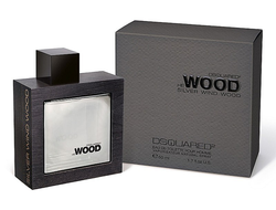 Dsquared He Wood Silver Wind Wood