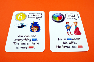 ADVERBS vs ADJECTIVES creativo fun card
