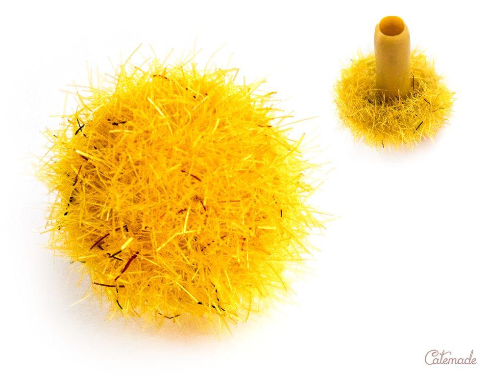 Сердцевина цветка «Жёлтый» Catemade д 9 мм