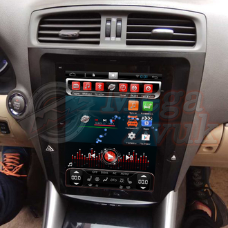 "Автомагнитола MegaZvuk T3-10777 Lexus IS 250/300/350 (2005-2011) на Android 6.0.1 Quad-Core (4 ядра) 10.4"" Tesla Style"